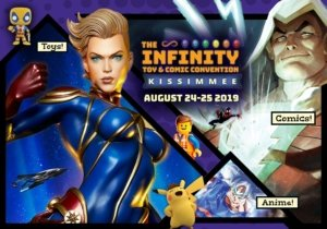 The Infinity Toy and Comic Convention